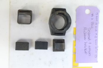 YAMAHA XJ600 DIVERSION   SOLENOID + OTHER RUBBER HOLDER.  #8(CON-B)